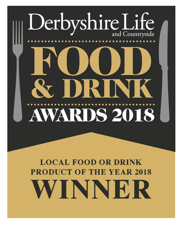 Derbyshire Food & Drink Awards 2018 Winner