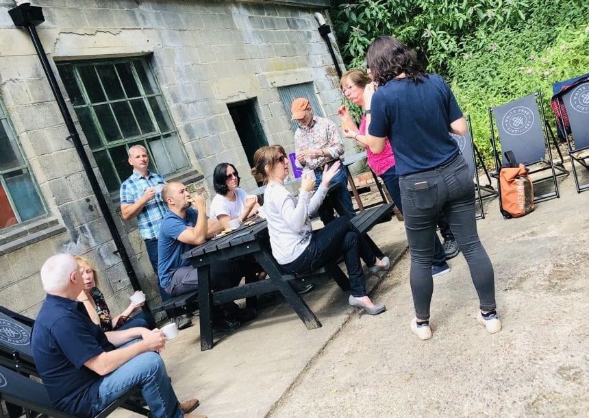Team Building at White Peak Distillery